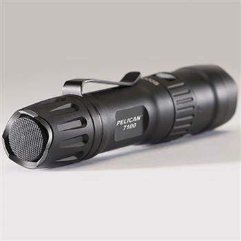 Pelican™ 7100 Tactical Flashlight push-button tail cap