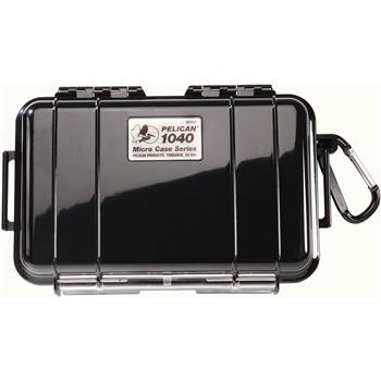 Black Pelican 1040 Micro Case with Black Liner
