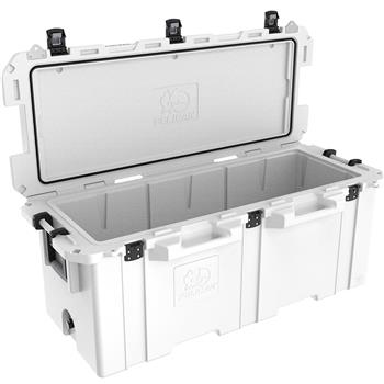 Pelican™ 250 Quart Elite Cooler Up to 10 days ice retention*, freezer grade gasket