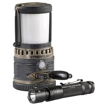 Streamlight Super Siege Lantern is a portable USB power source