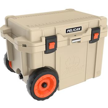 Tan Pelican™ 45 Quart Elite Cooler