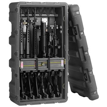 Black Pelican Rifle Case (Contents Shown Not Included)