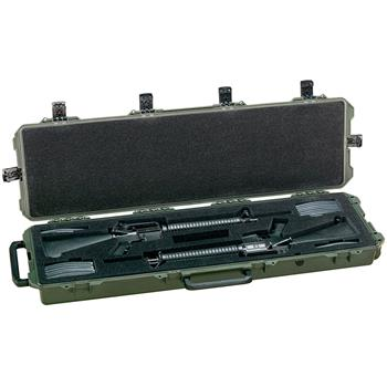 Olive Drab Pelican iM3300 Case with Custom Foam (rifles not included)