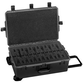 Black Pelican iM2950 Pistol Case with Custom Foam (Contents Shown Not Included)