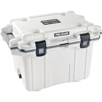 White Pelican™ 50 Quart Elite Cooler with gray trim