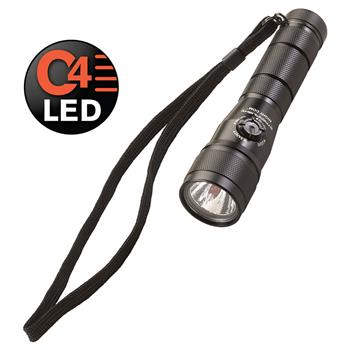 Black Streamlight Night Com LED Flashlight