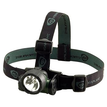 Green Streamlight Trident LED Headlamp