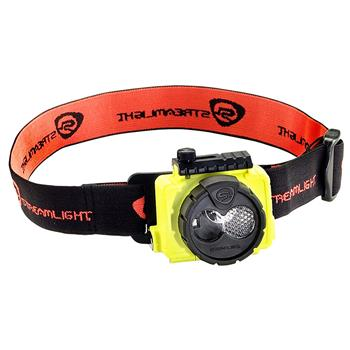 Yellow Streamlight Double Clutch LED Headlamp
