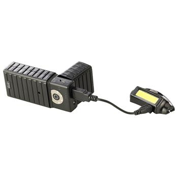 Streamlight Bandit® Rechargeable Headlamp may be charged with the EPU-5200 portable charger (sold separately)
