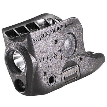 Black Streamlight TLR-6 (Glock  42/43) Weapon Light