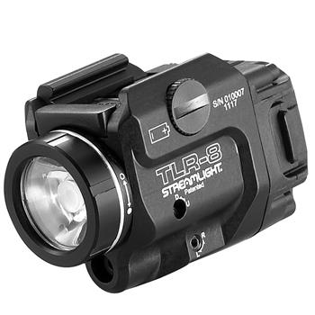 Streamlight TLR-8® Weapon Light with a red laser