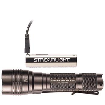 Streamlight ProTac HL-X USB tactical flashlight with rechargeable USB battery