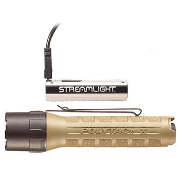 Coyote Streamlight PolyTac X USB LED Flashlight