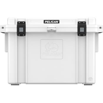 Pelican™ Cooler 95 Quart White Elite Cooler with press and pull latches