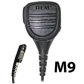 Bravo Speaker Microphone with an M9 connector
