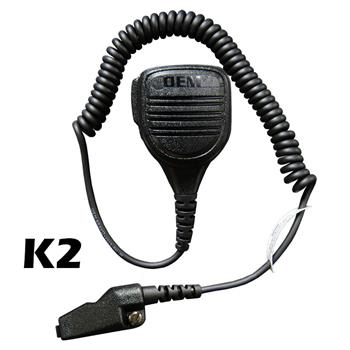 Bravo Speaker Microphone with a K2 connector