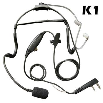 Commander Tactical Earpiece Headset with K1 Connector