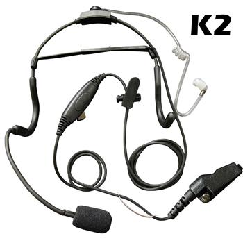 Klein Commander Tactical Radio Headset with K2 Connector