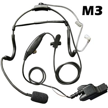 Klein Commander Tactical Radio Headset with M3 Connector
