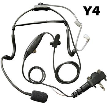 Klein Commander Tactical Radio Headset with Y4 Connector