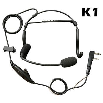 Crewchief Lightweight Radio Headset with K1 Connector
