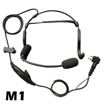 CrewChief Lightweight Radio Headset with M1 Connector