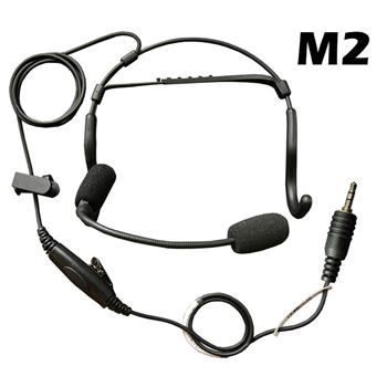 CrewChief Lightweight Radio Headset with M2 Connector