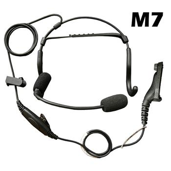 CrewChief Lightweight Radio Headset with M7 Connector