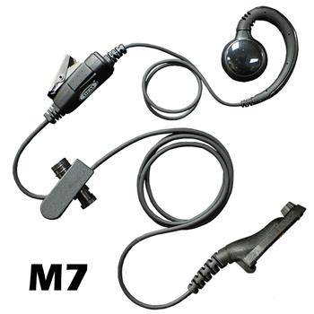 Curl Radio Earpiece with M7 Connector