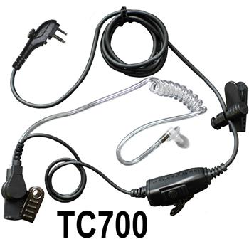 Star Surveillance Radio Earpiece with TC700 Connector