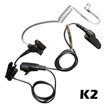 Signal Surveillance Radio Earpiece with K2 Connector