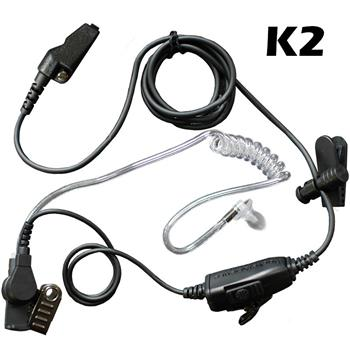 Star Surveillance Radio Earpiece with K2 Connector