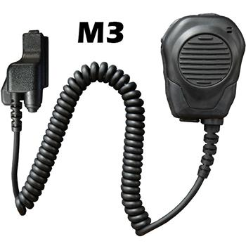 Valor Speaker Microphone with a M3 connector