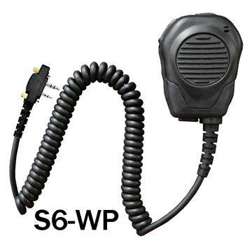 Valor Speaker Microphone with a S6 water-proof connector