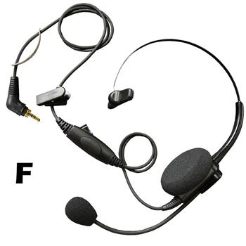 Voyager Lightweight Cell Phone Headset with F Connector