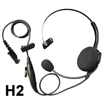 Klein Voyager Lightweight Radio Headset with H2 Connector