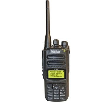 Zone Digital & Analog 2-Way Radio with Keypad