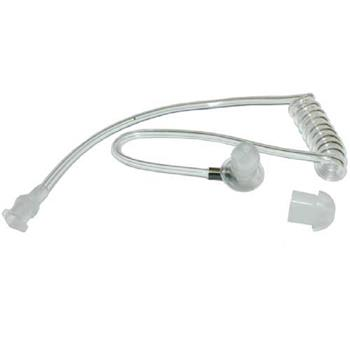Clear Audio Acoustic Tube with Quick-Disconnect