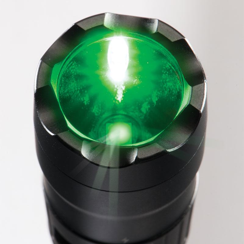 Pelican™ 7600 Tactical Flashlight Green LED's