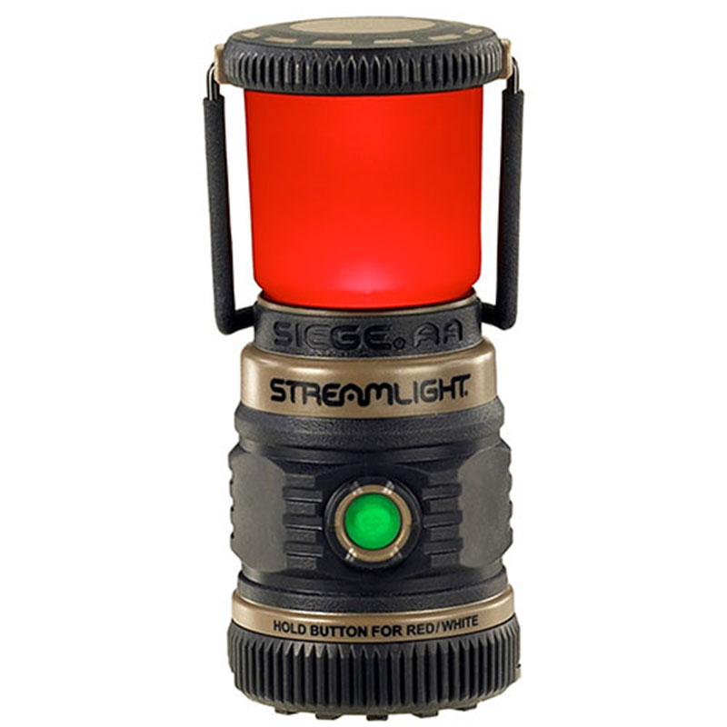 Streamlight Siege AA Lantern with red output mode