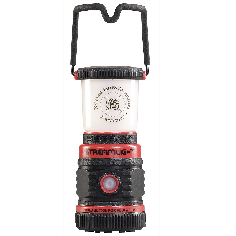 Streamlight Siege AA Lantern handles locks in upright or stowed position