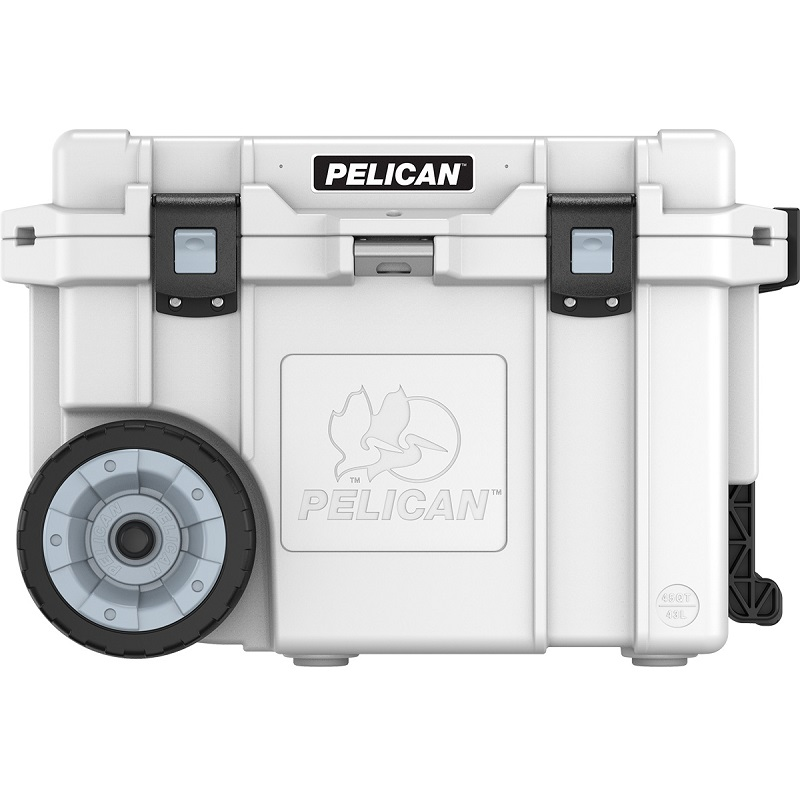 Pelican™ Cooler 45 Quart Elite Cooler with secure latching press and pull latches