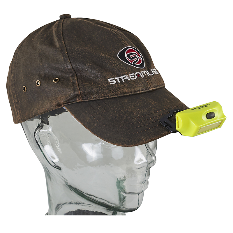 Streamlight Bandit Pro Headlamp removeable hat clip