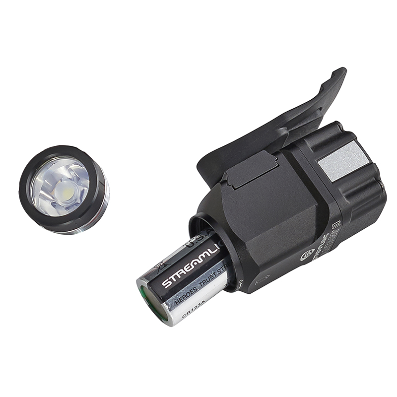 Streamlight Vantage® II LED helmet light battery replacement is simply