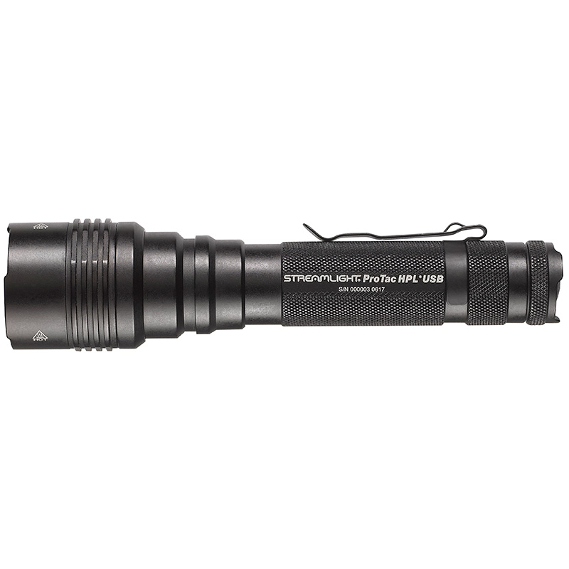 Streamlight ProTac HPL USB LED flashlight high candela tactical light