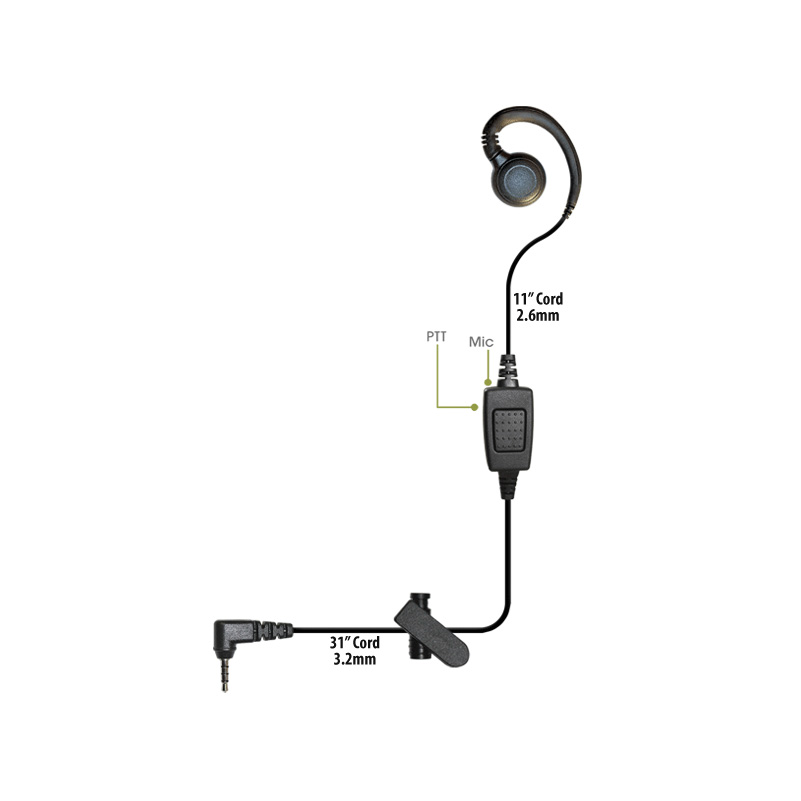 Klein Curl Cell Phone Earpiece Zello Team On The Run Unity Telecom Lowest Prices
