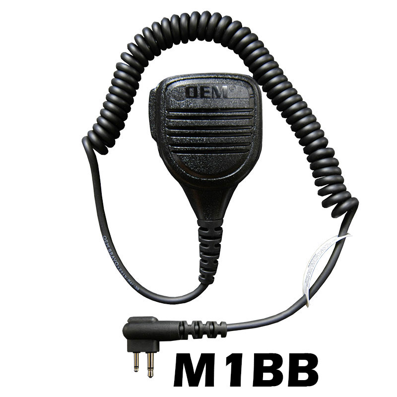 Bravo Speaker Microphone with an M1-BB connector