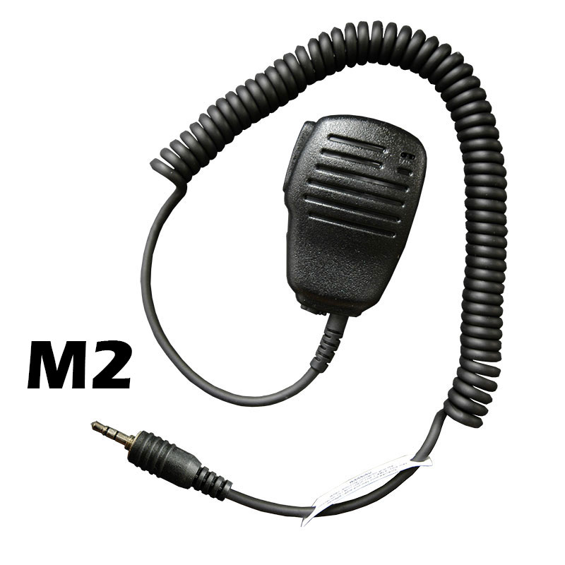 Flare Compact Speaker Microphone with an M2 connector