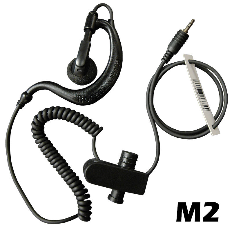 Scorpion Listen-Only Earpiece with M2 Connector