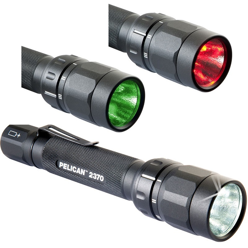 Pelican™ 2370 LED Flashlight 3 lights in one